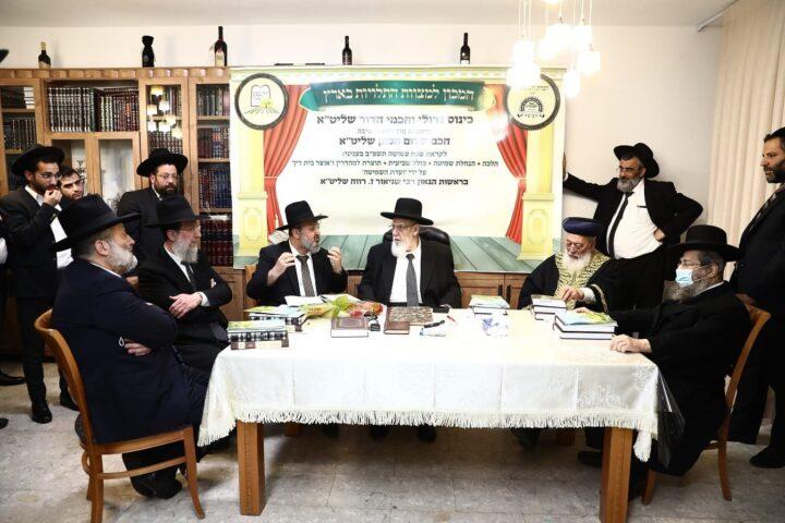 כינוס היסטורי במעונו של נשיא מועצת חכמי התורה