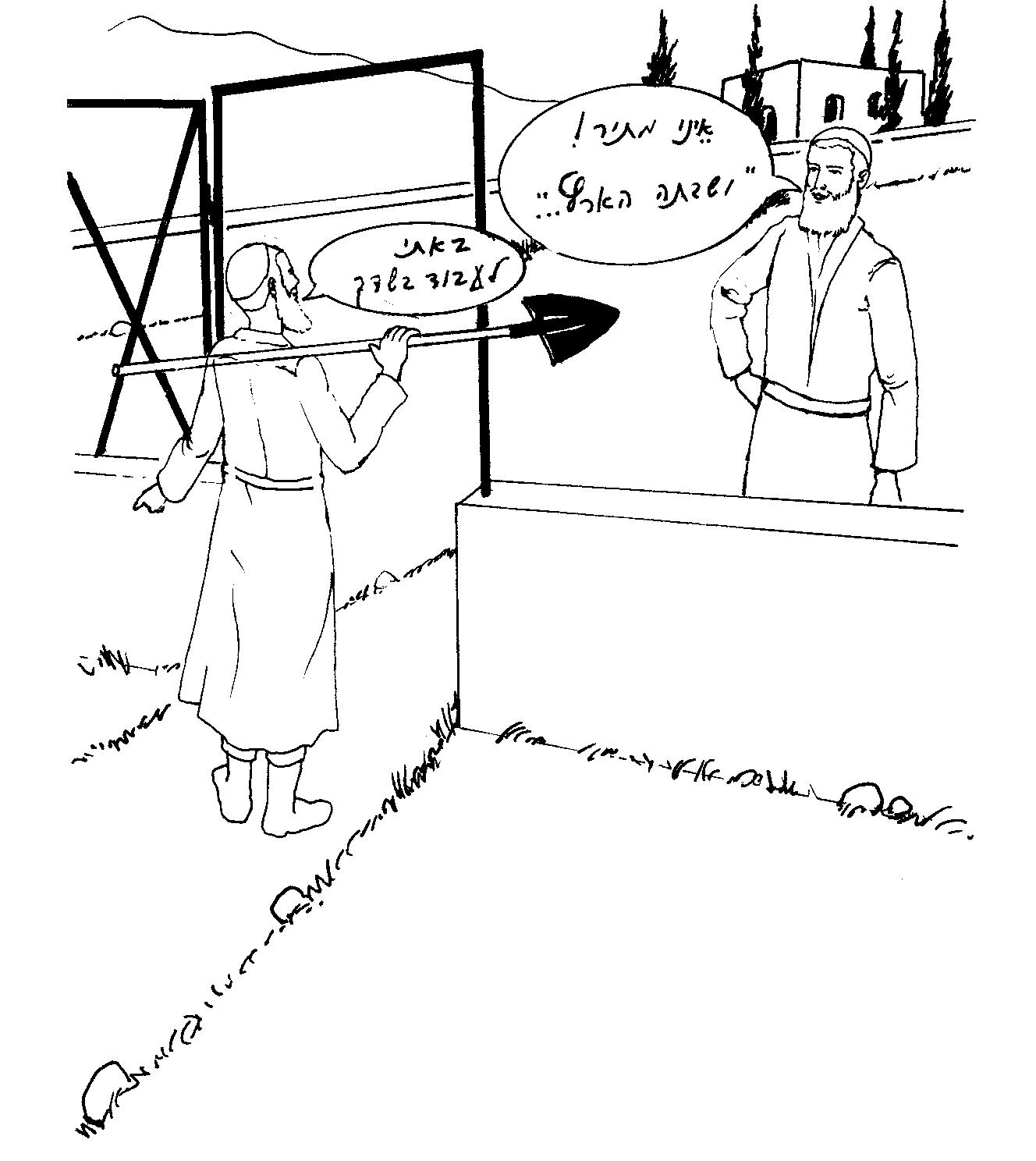 עובד שבא לעבוד בשמיטה