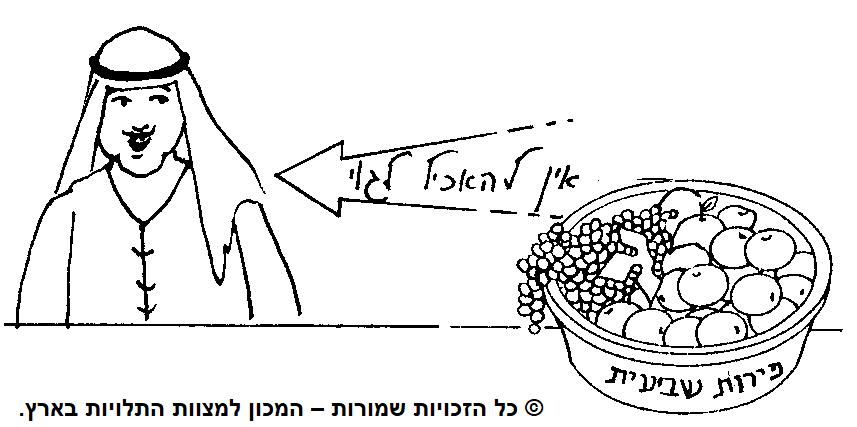 איסור אכילה לגוי מפירות שביעית